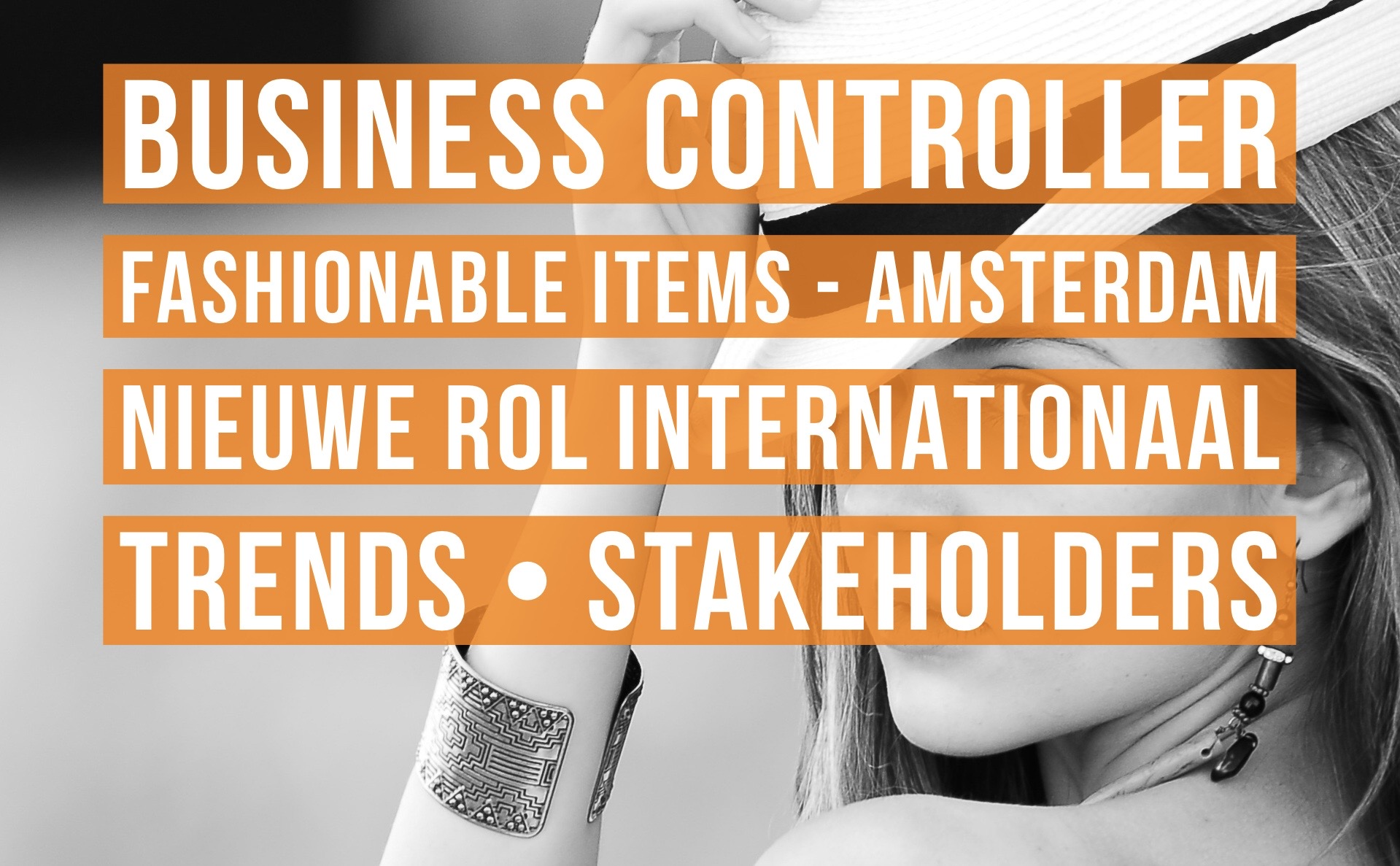 Business Controller fashionable items vacature amsterdam