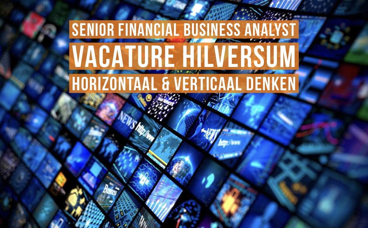 Senior Financial Business Analyst vacature Hilversum